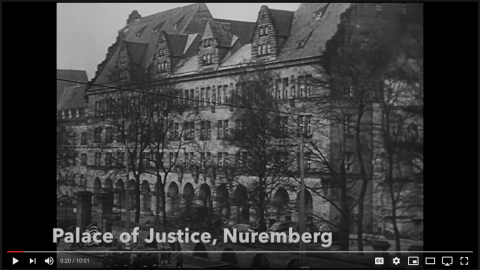"Historical Context – Nuremberg Trials and Judgements for ""Crimes Against Humanity.""."
