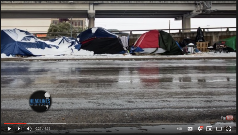 REPORT: Shelters Refused to Save People from Freezing – Social-Distancing More Important