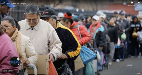 For the first time, millions of Americans waited in food bank lines this year, unlike anything seen since the Great Depression of the 1930s.