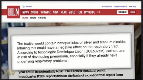 REPORT: CANCER CONCERN FOR MASKERS