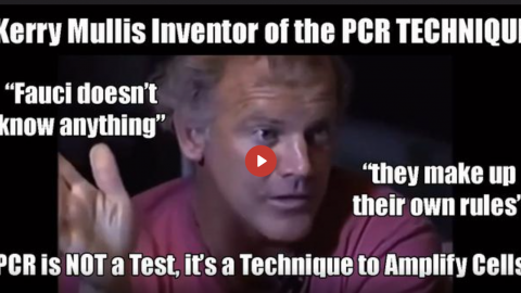 REPORT: PCR TEST INVENTOR KERRY MULLIS CALLS OUT FAUCI BEFORE HIS UNTIMELY 'PASSING'
