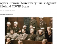 REPORT: Lawyers Promise 'Nuremberg Trials' Against All Behind COVID Scam