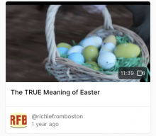 REPORT: The TRUE Meaning of Easter